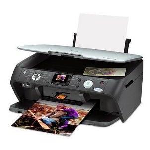Inkjet printer producing large photos