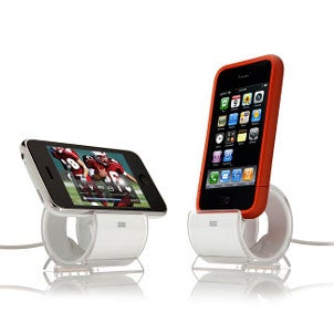 Docking stations connected to video iPods