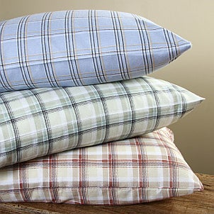 Flannel bedding is a popular choice for the winter months