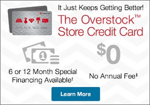 Learn about the Overstock™ Store Credit Card
