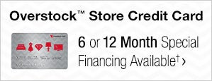 Overstock? Store Credit Card - 6 or 12 Month Special Financing Available?