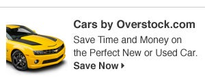 Cars by Overstock.com - Save Time and Money on the Perfect New or Used Car. Save Now.