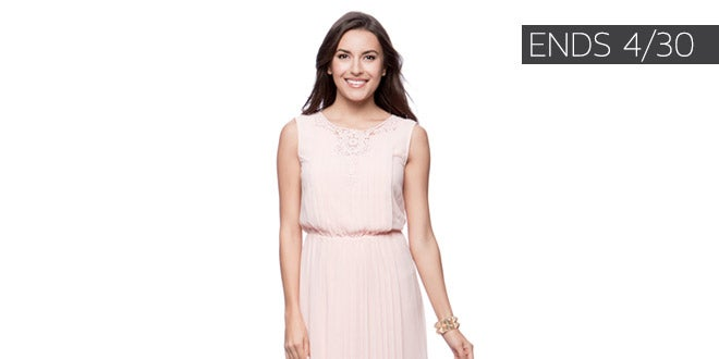 Ends 04/30 - Extra 10-20% off Select Clothing, Shoes & Accessories*
