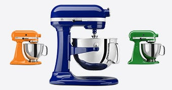 Be Colorful with KitchenAid