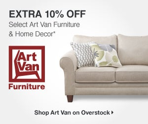 Extra 10% off Select Art Van Furniture & Home Decor* - Art Van Furniture - Shop Art Van on Overstock