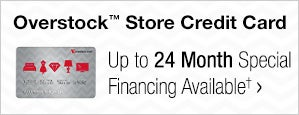 Overstock™ Store Credit Card - Up to 24 Month Special Financing Available†