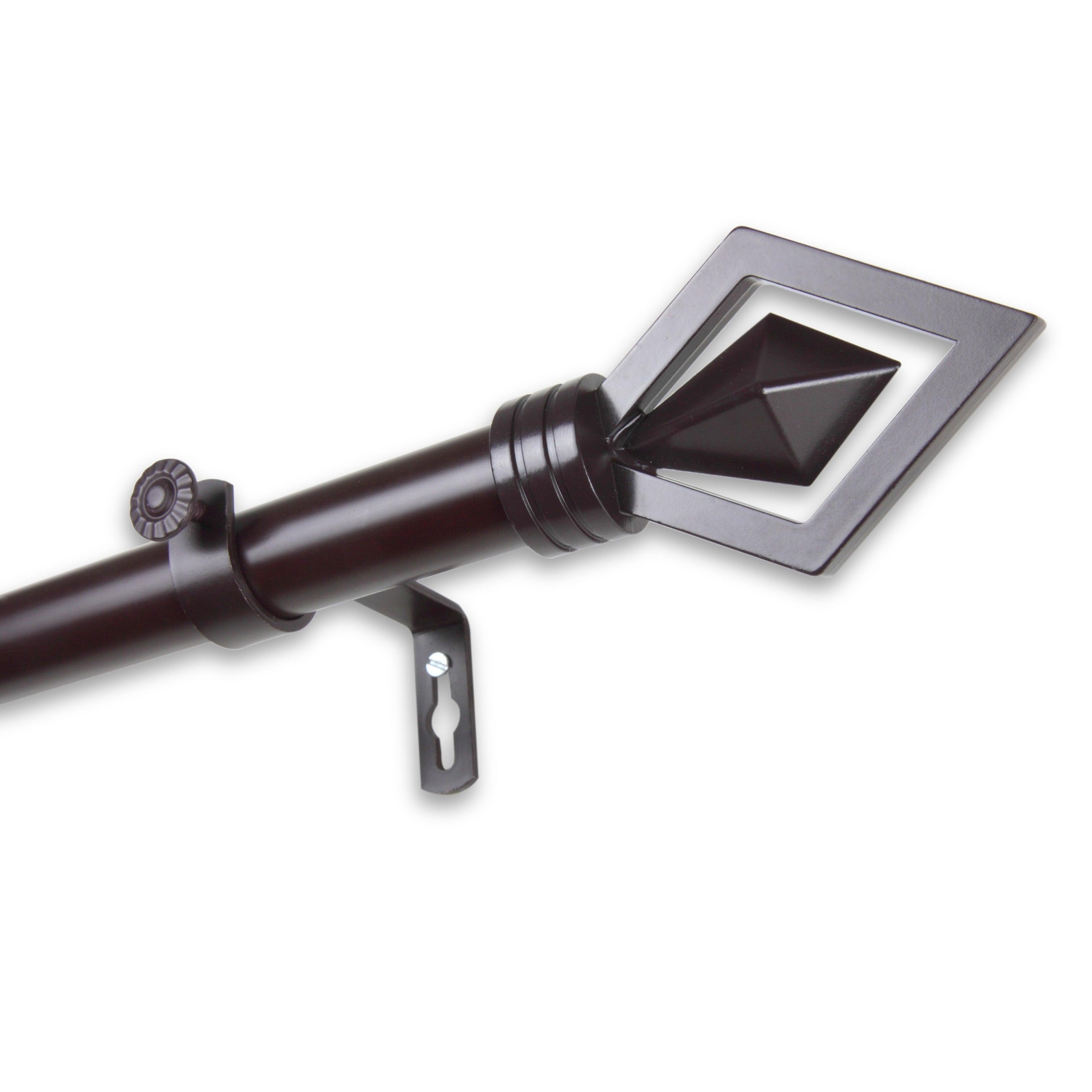 InStyleDesign Crystal Adjustable Curtain Rod