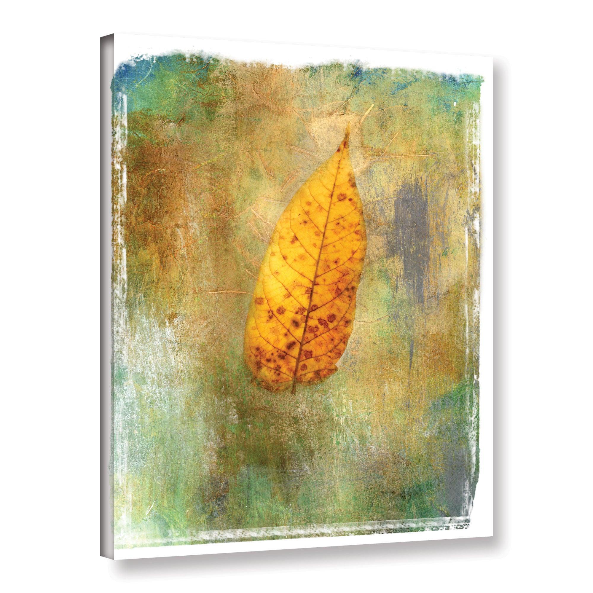 ArtWall Leaf II Gallery Wrapped Canvas Art by Elena Ray 18 X 24 | eBay