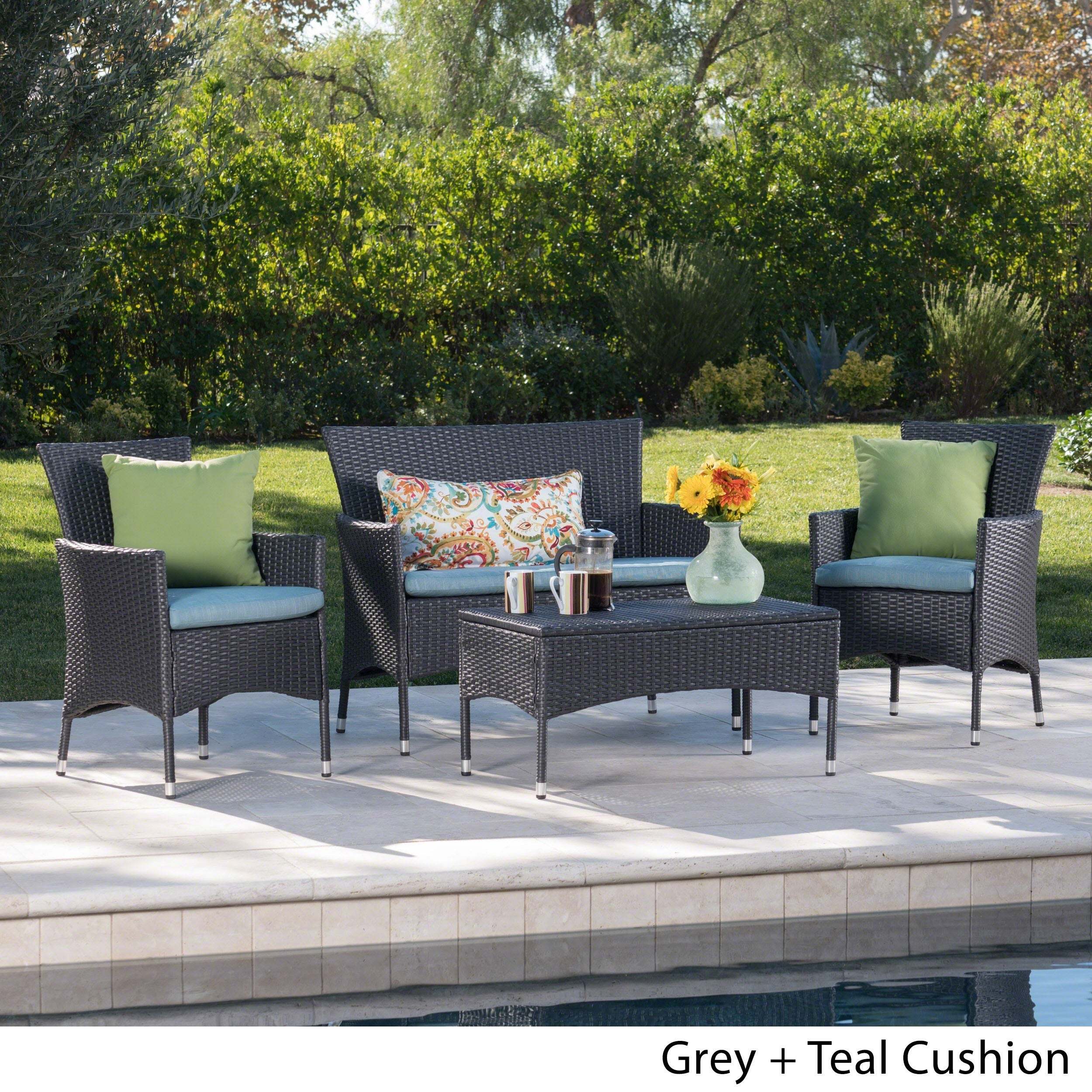 Malta-Outdoor-4-piece-Wicker-Chat-Set-with-