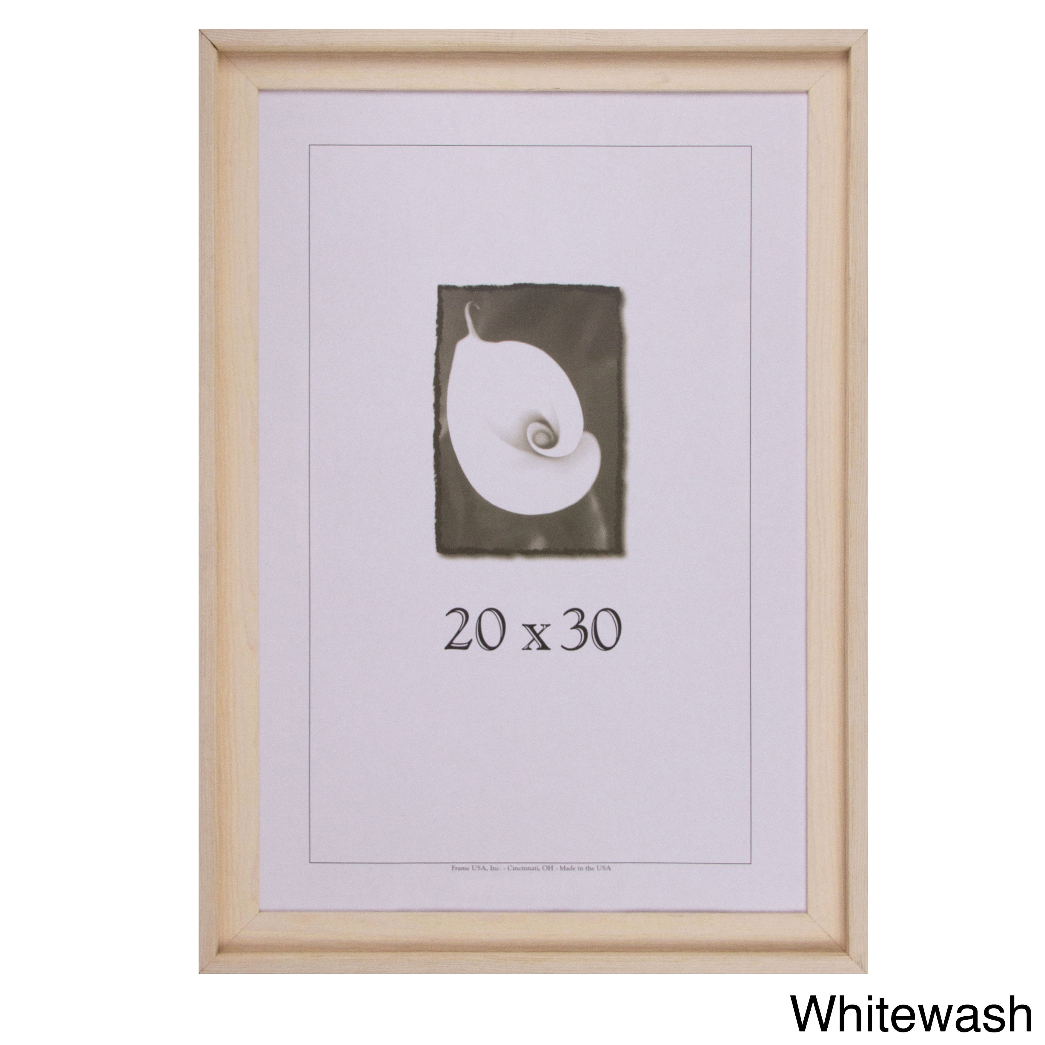 Appalachian Barnwood Picture Frame 20x30 Grey 20x30 | eBay