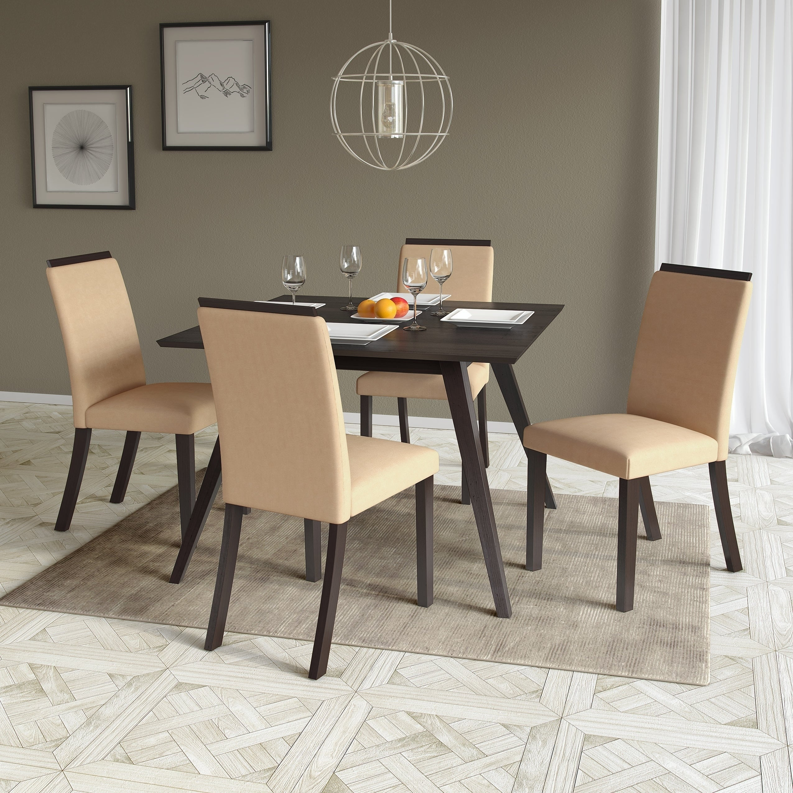 CorLiving Smooth Top Bistro Dining Chairs Set Of