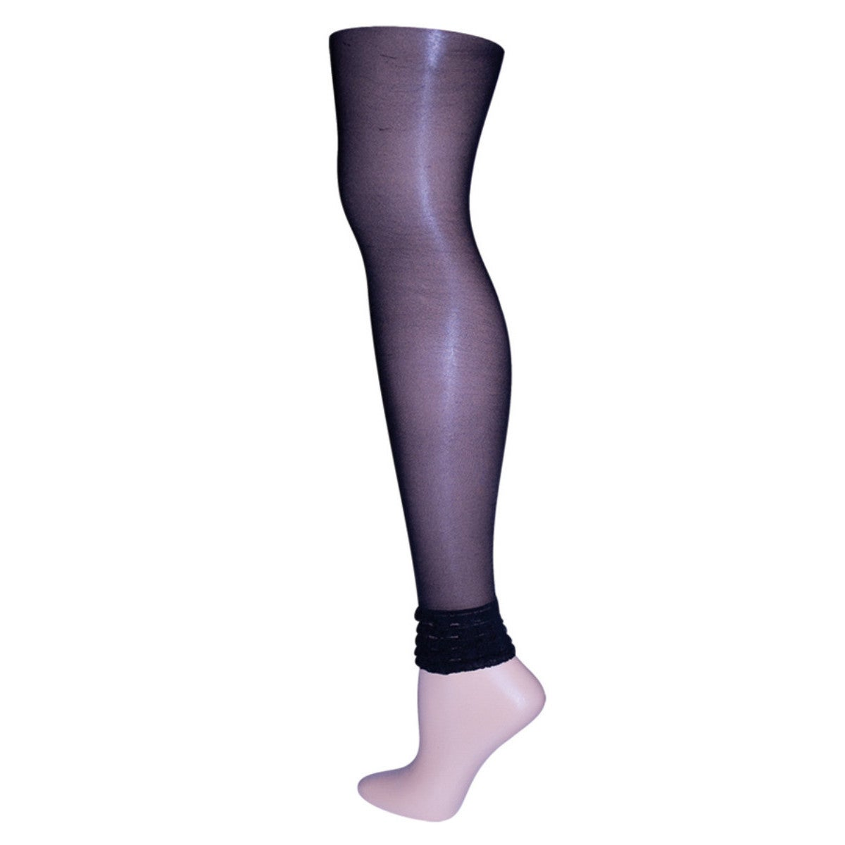 3edee52ba Memoi Layered Ruffles Sheer Footless Tights Black Small/medium | eBay