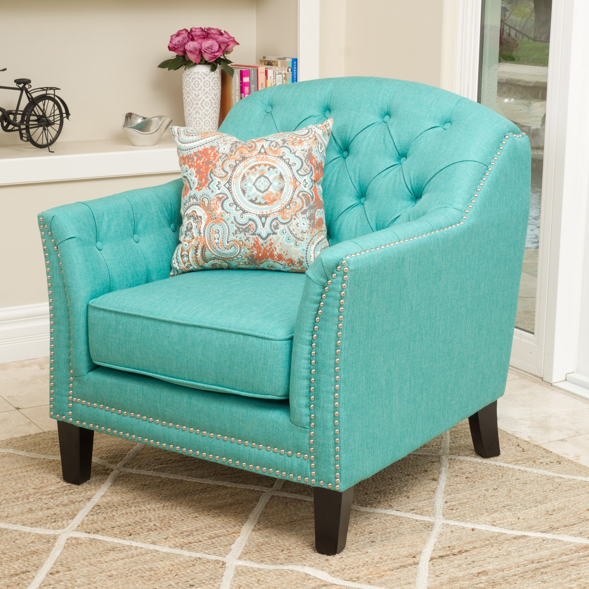 Genial Coatbridge Fabric Club Chair By Christopher Knight Home