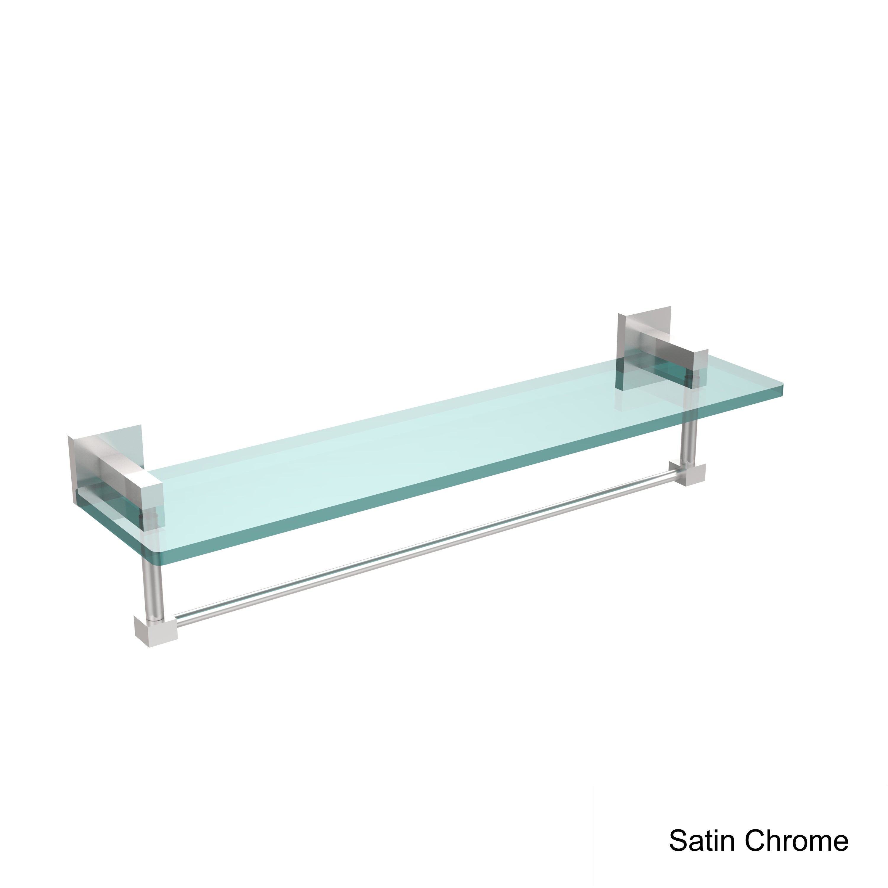Allied Brass Montero Collection 22-inch Glass Vanity Shelf With ...