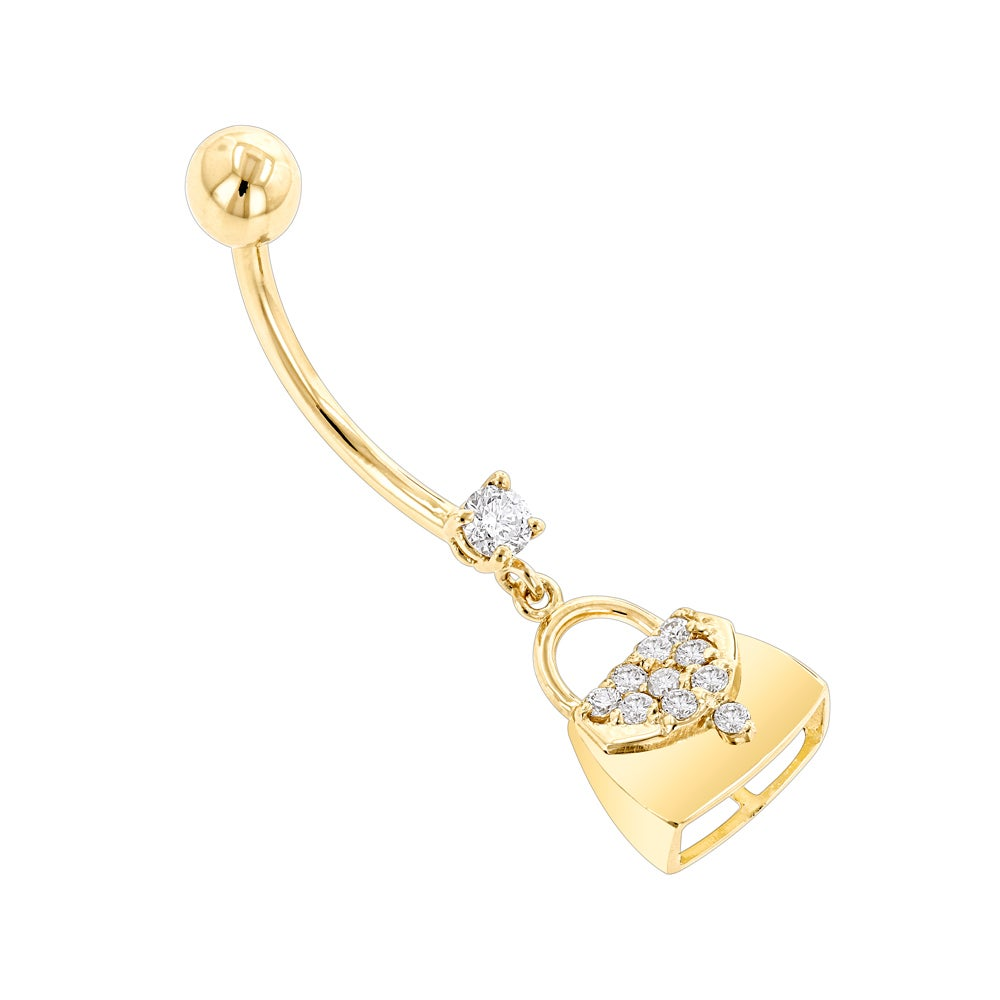 Luxurman-Body-Jewelry-14k-Gold-0-29-Ct-Diamond-H-SI-Purse-Belly-Button-Ring