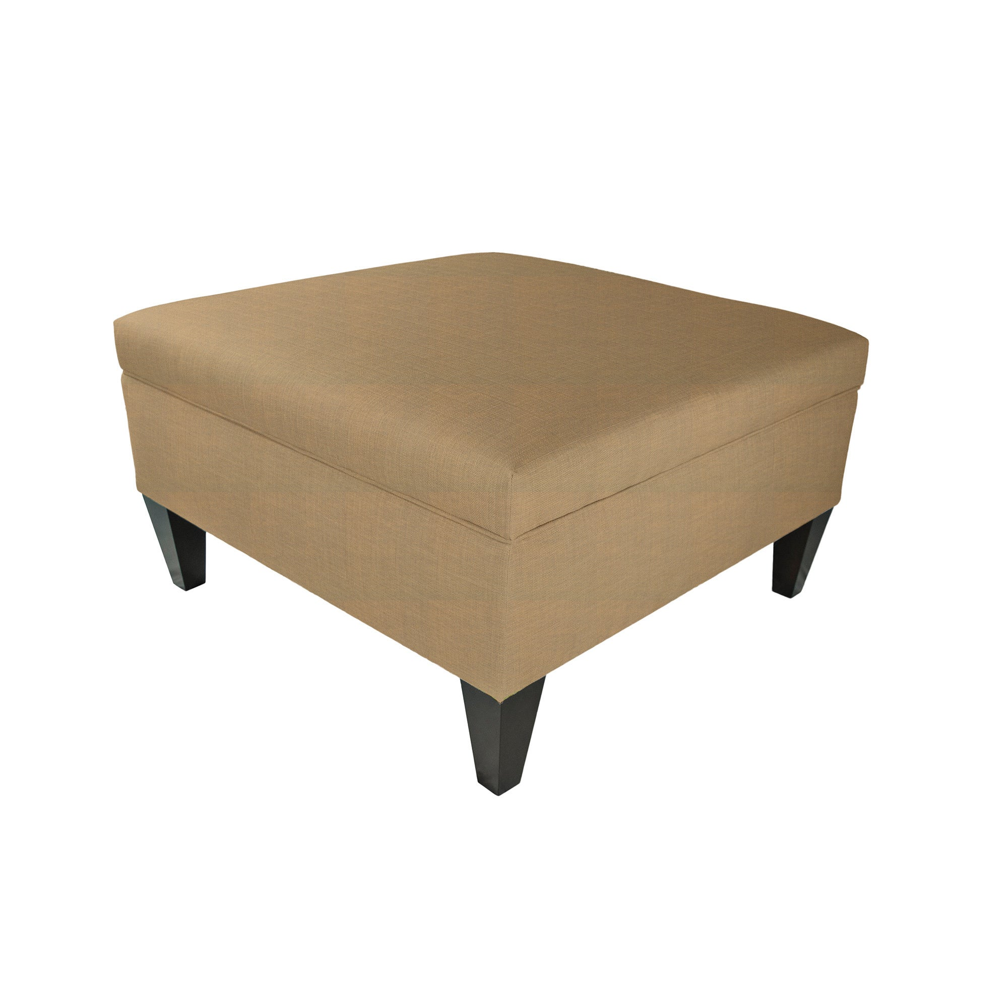 MJL Furniture Manhattan Allure Upholstered Organizational Cocktail Ottoman
