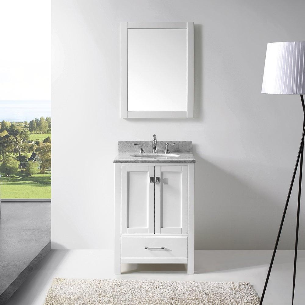 Virtu USA Caroline Avenue 24-inch Single Bathroom Vanity Set with ...