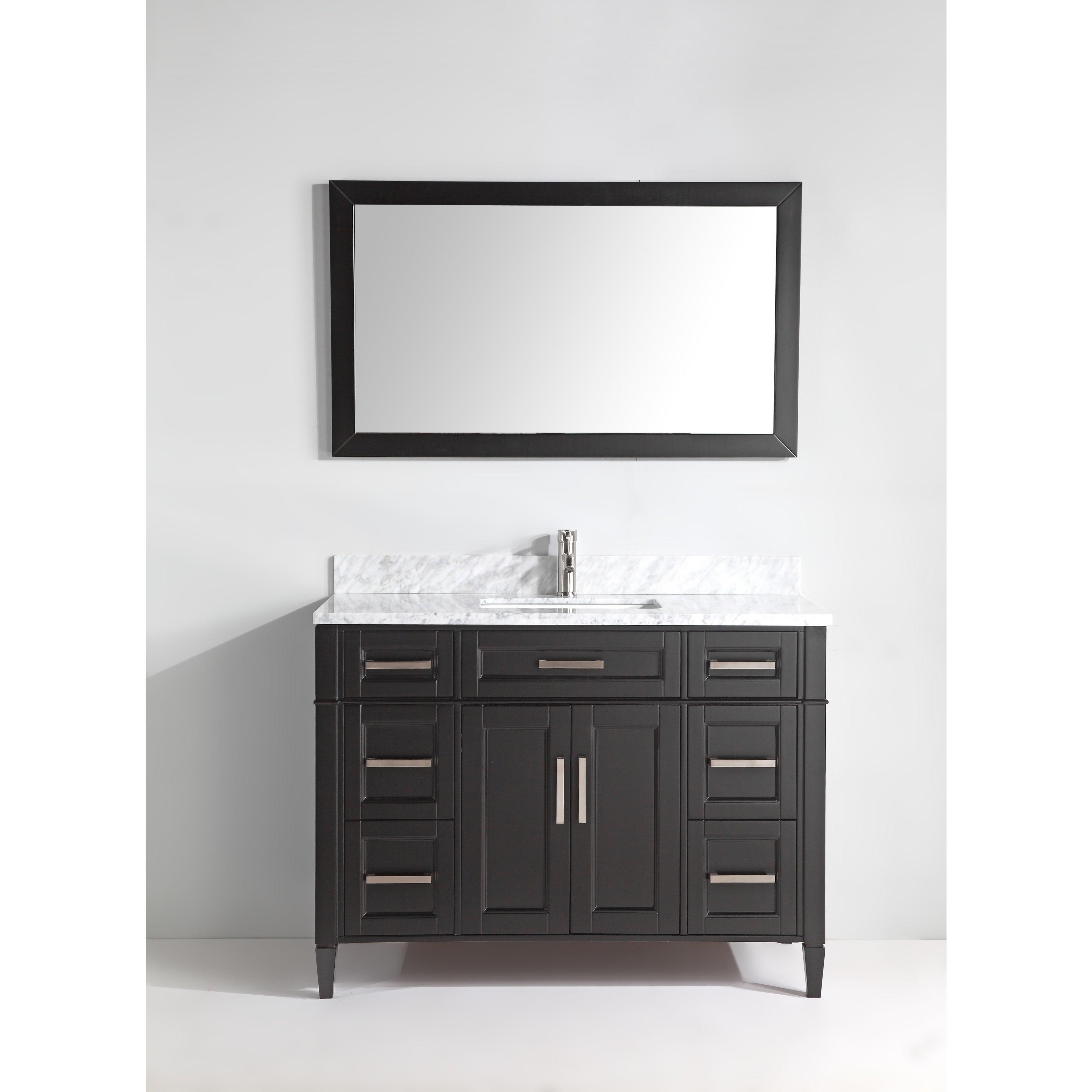 Vanity Art 60 Inch Bathroom Vanity Set With