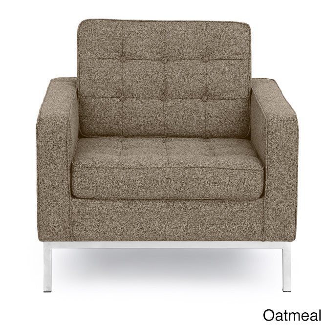 Exceptionnel Kardiel Florence Knoll Style Arm Chair Premium Fabric Upholstery