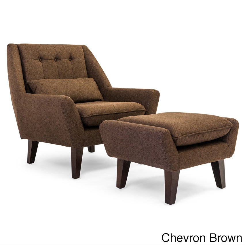 Kardiel Stuart Mid Century Modern Lounge Chair And