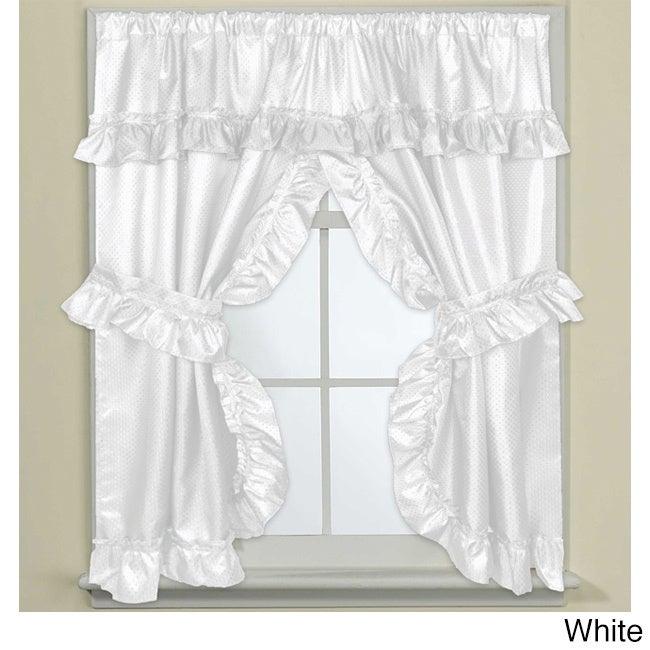 70 Inch W X 45 Inch L Bathroom Window Curtain Panel Pair