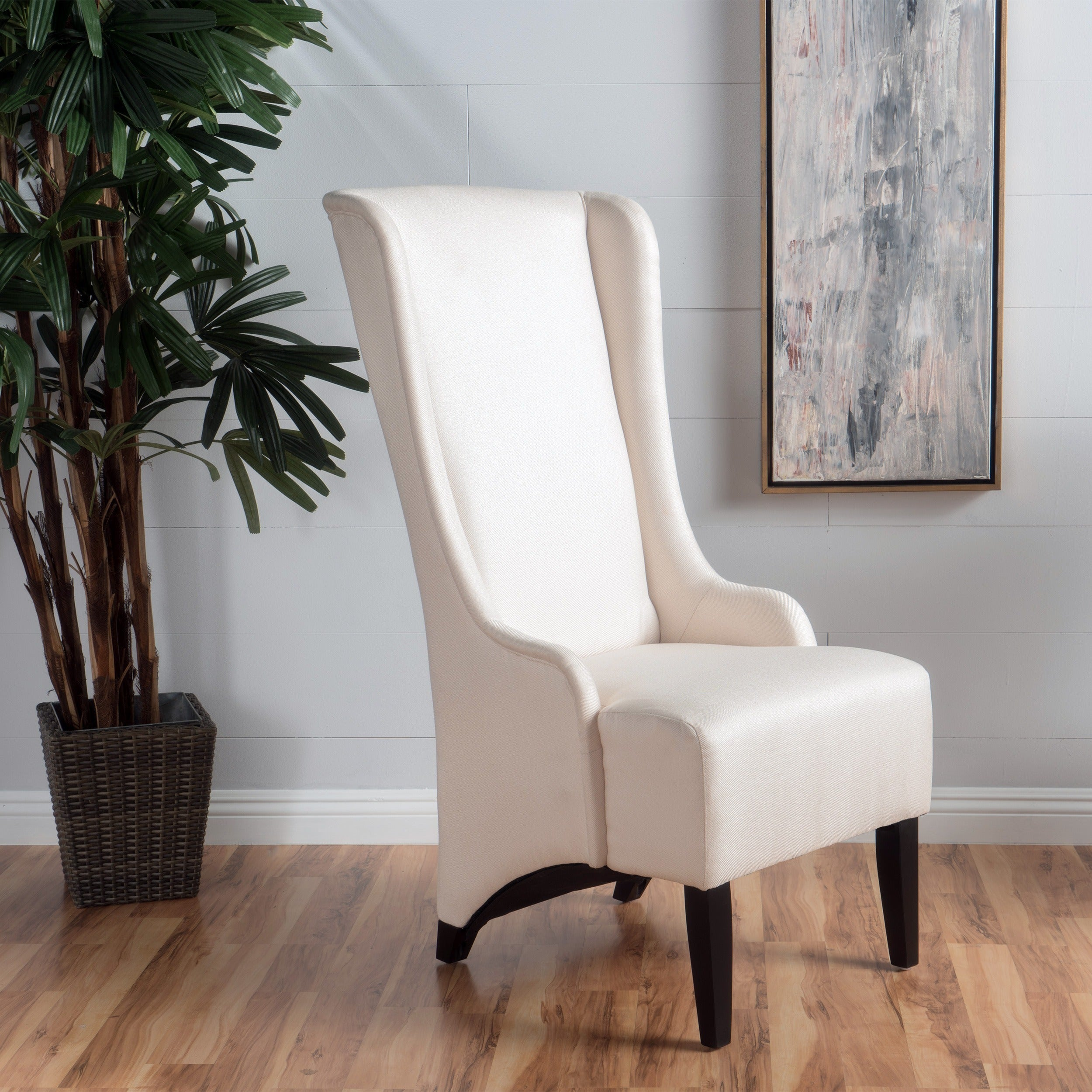 Charmant Callie High Back Fabric Dining Chair By Christopher