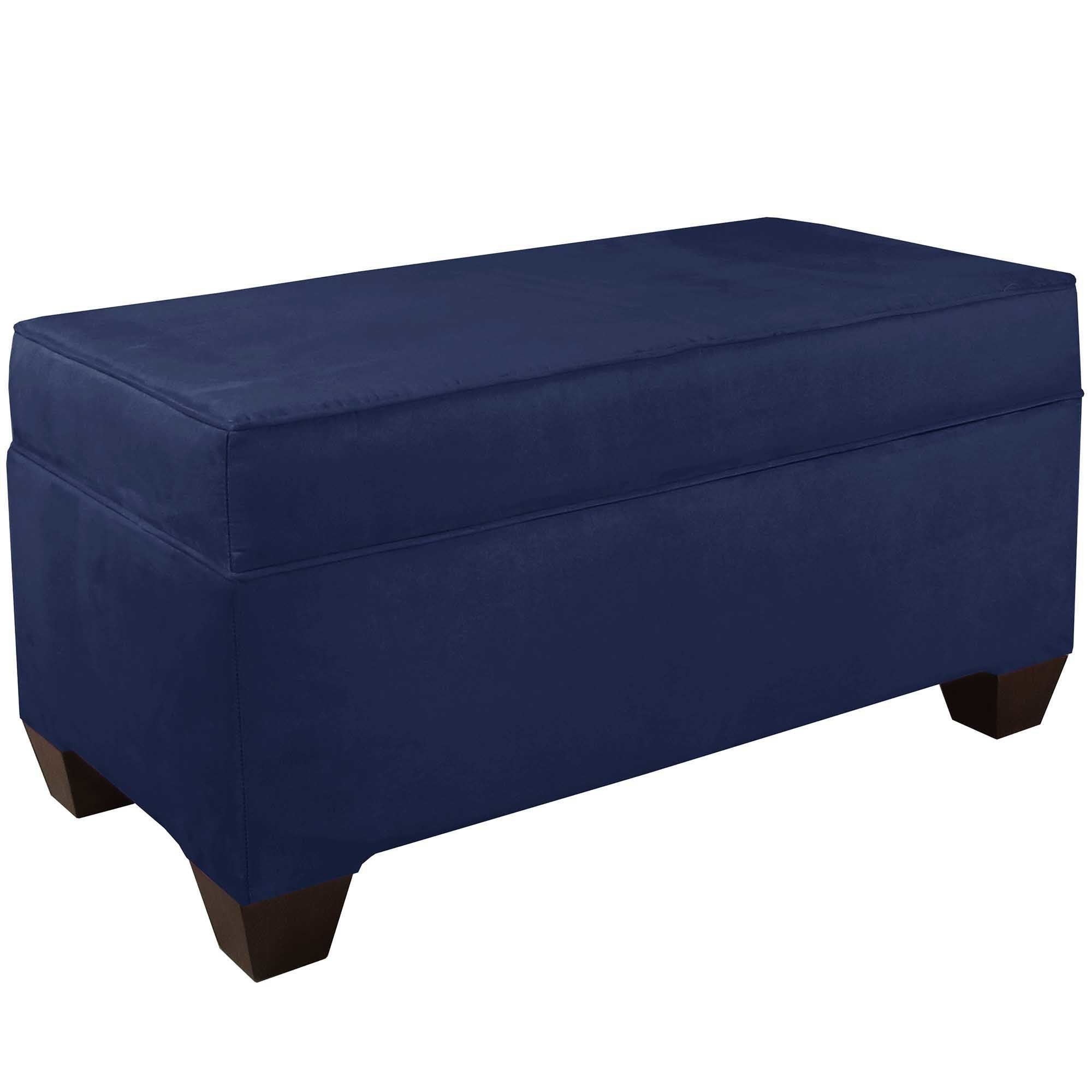 Skyline Furniture Velvet Custom Bench