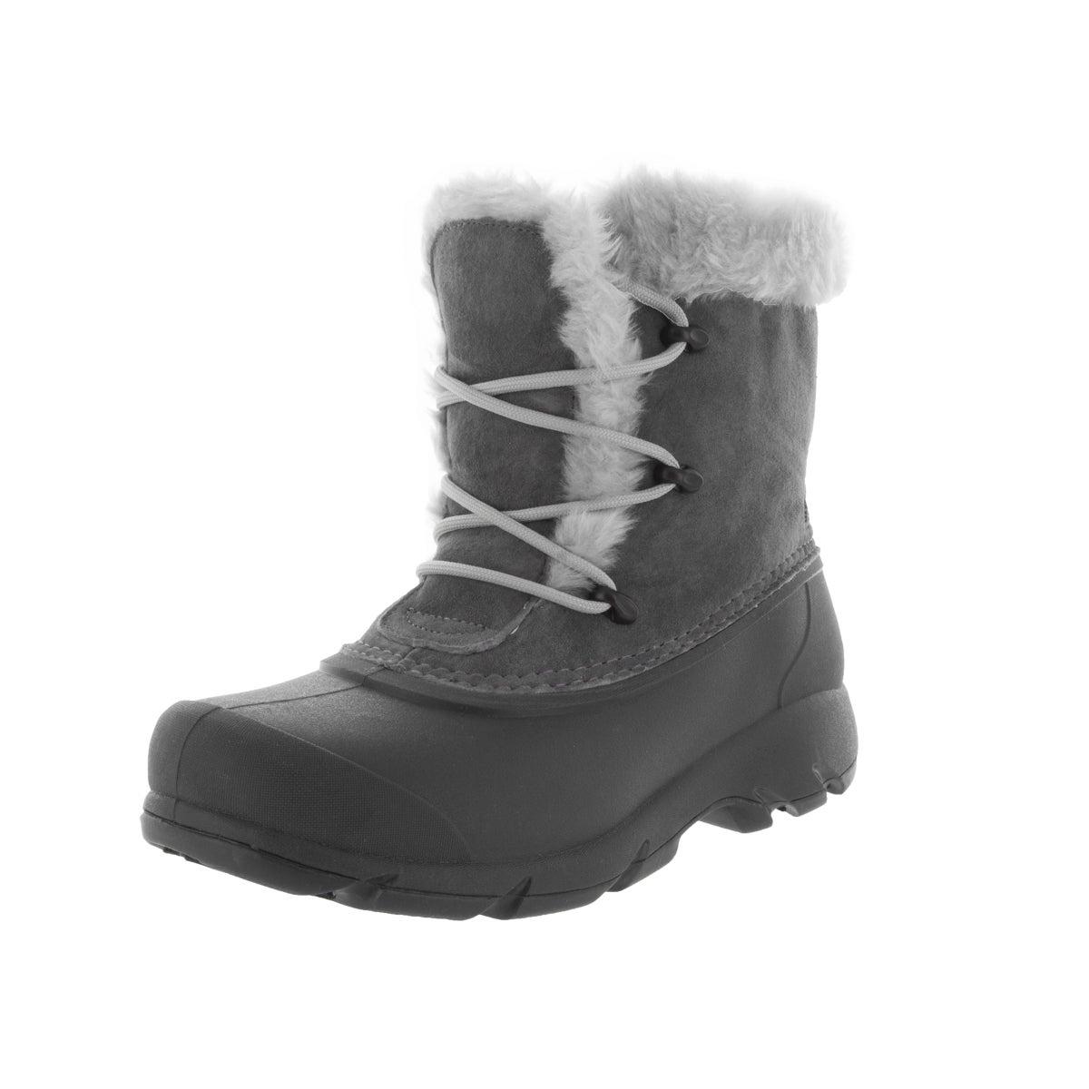 Sorel Women's Snow Angel Grey Suede Lace Boot