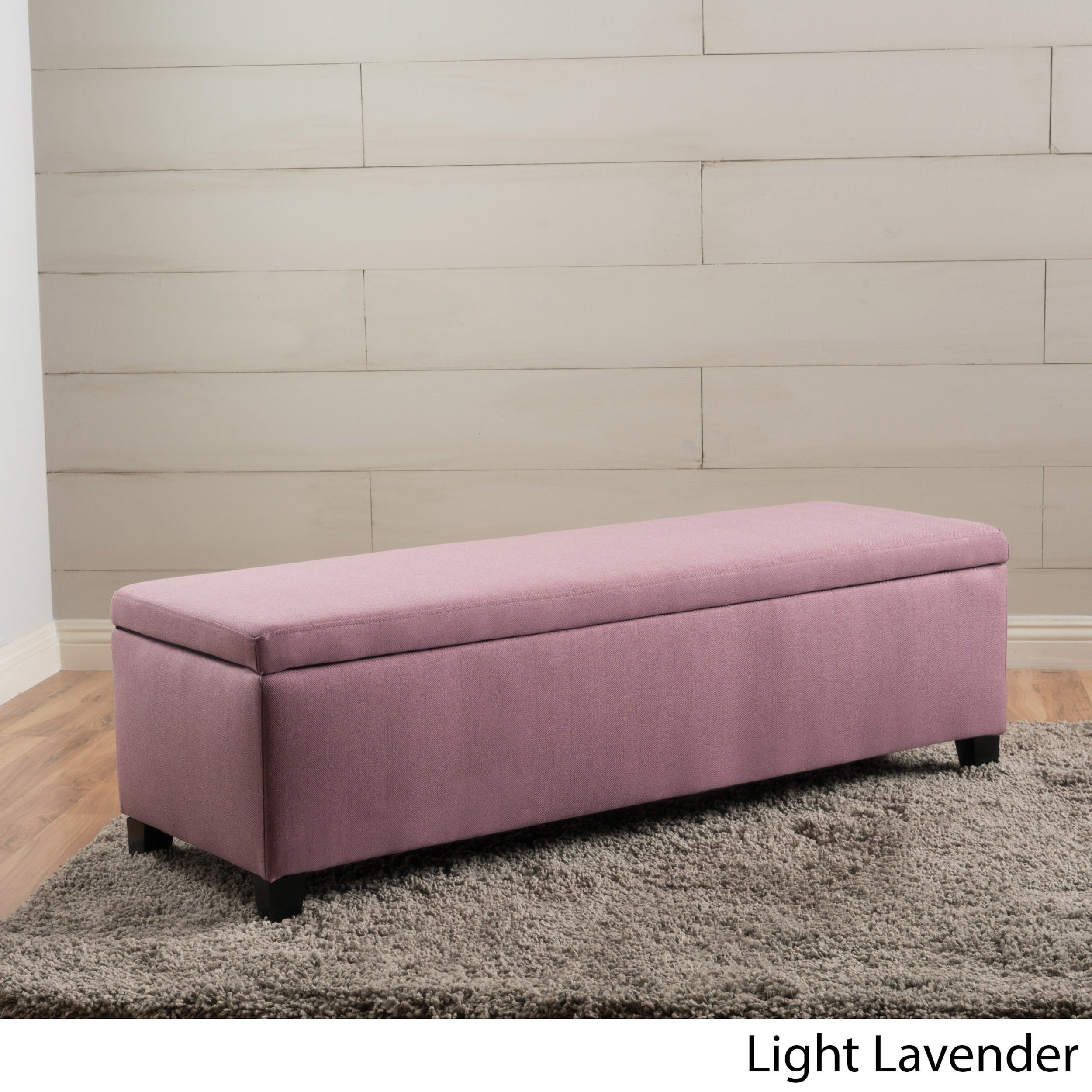 Kosas Home Fabric Storage Bedroom Bench Reviews: Cleo Fabric Storage Ottoman Bench By Christopher Knight