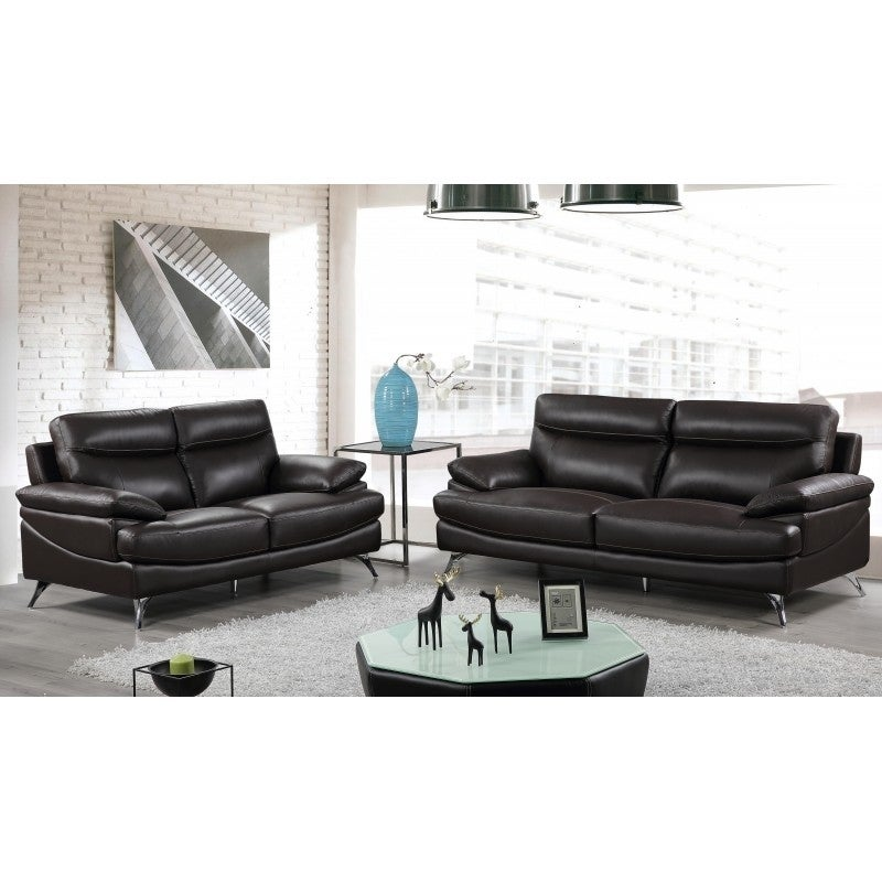 Best Quality Furniture 2 Piece Upholstered Leather Sofa