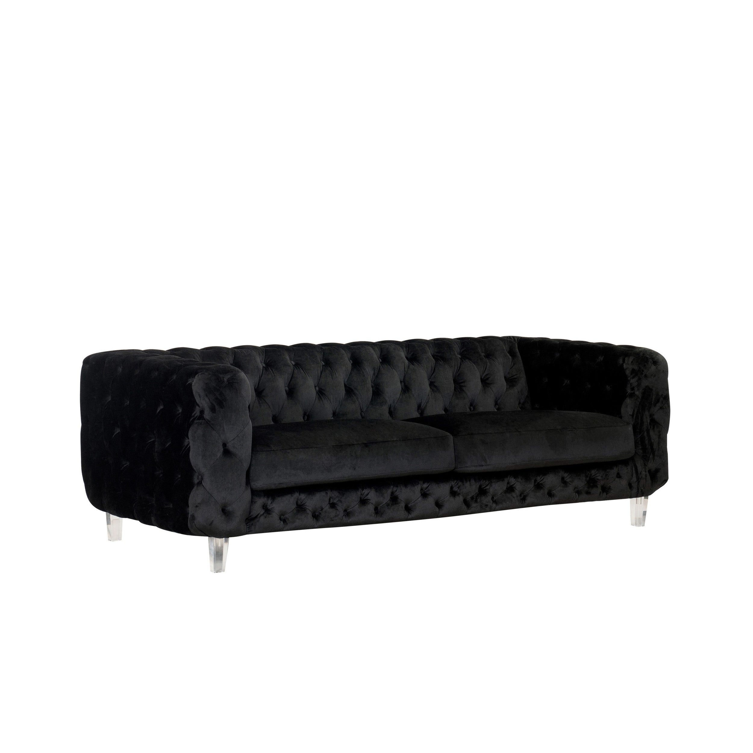 Chic Home Apollo Modern Contemporary Tufted Velvet Down