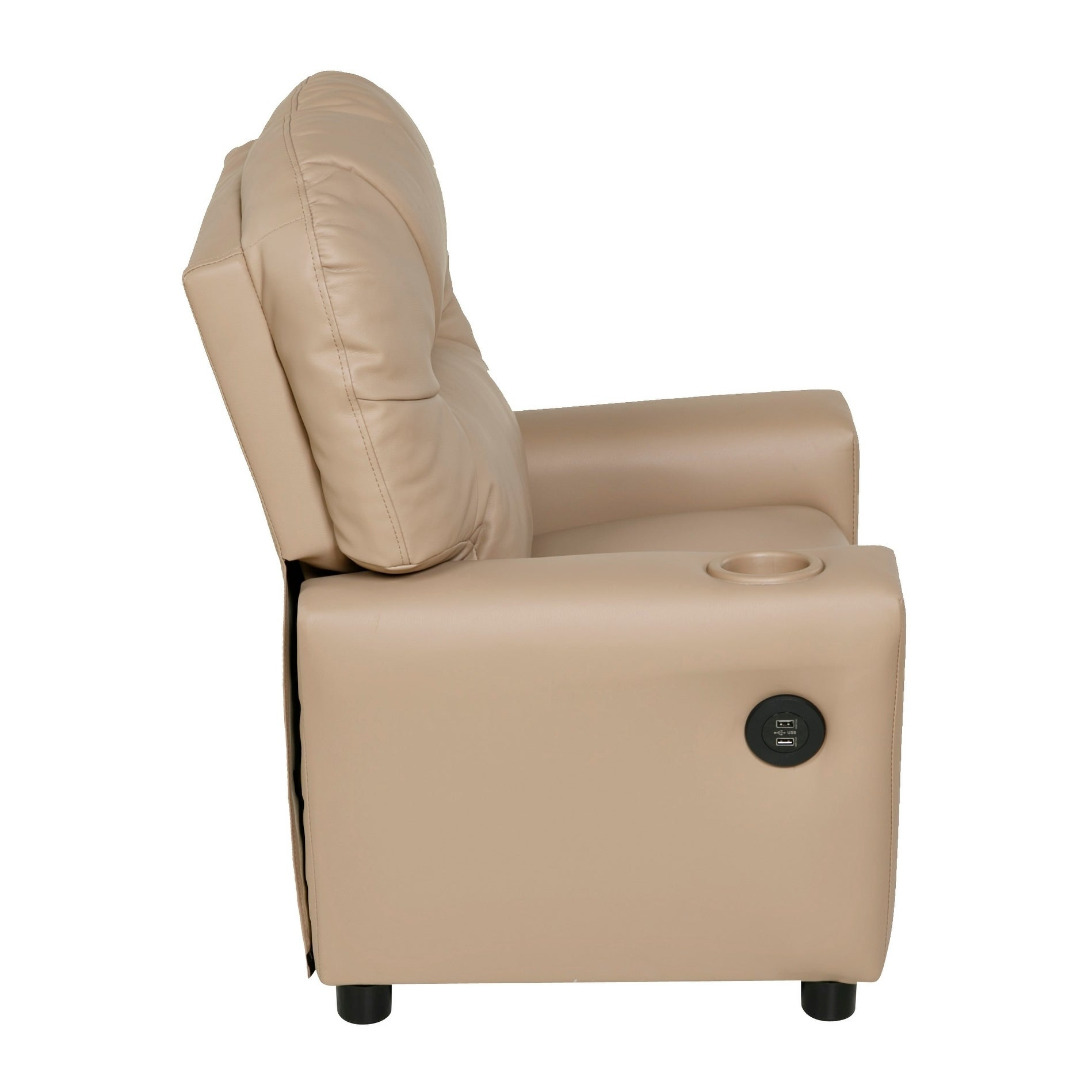 Relaxzen 60 7100KU Youth Recliner With Cupholder And