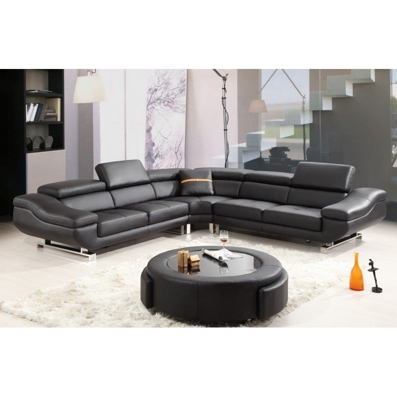 Beau Best Quality Furniture 4 Piece Leather Sectional Sofa