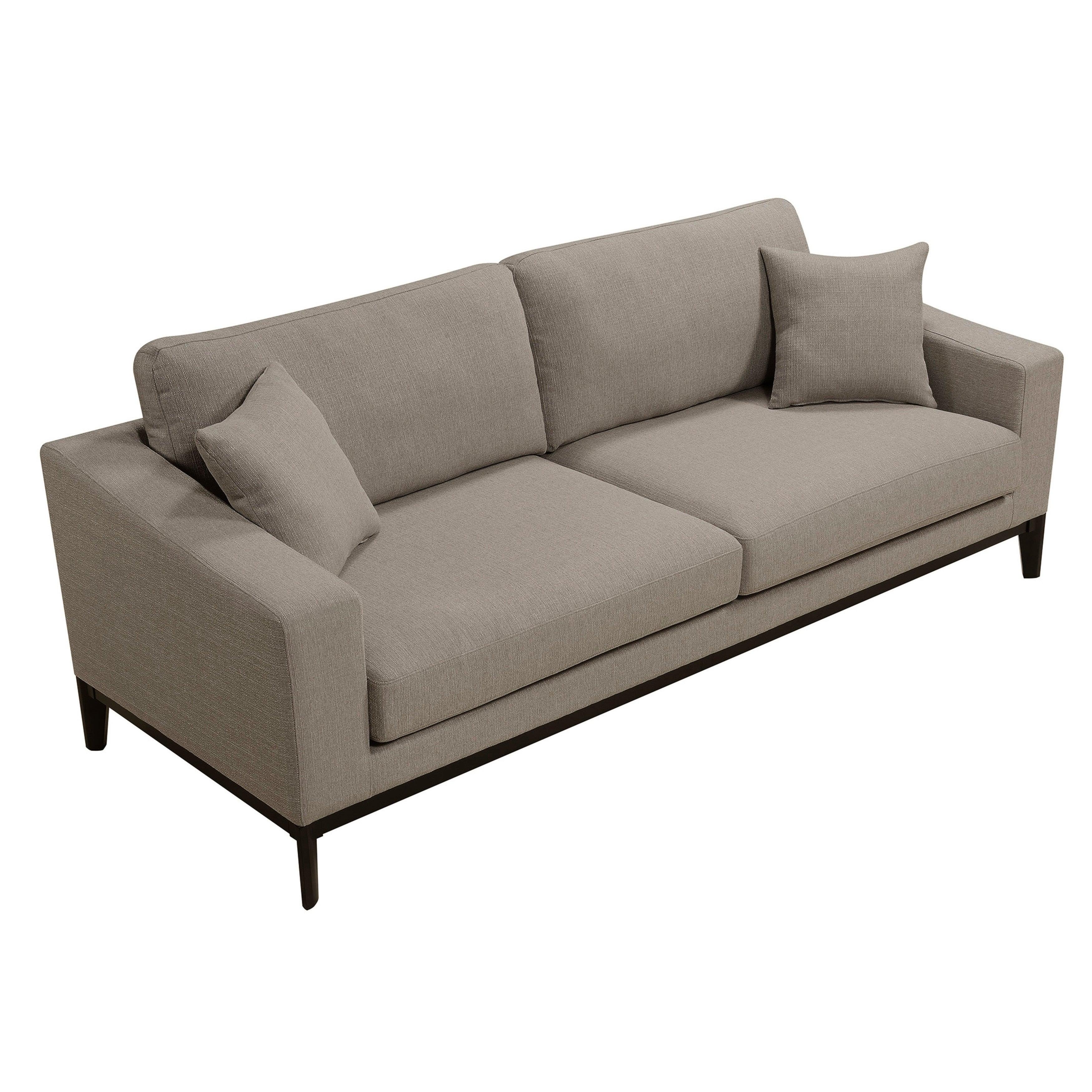 Elle Decor Olivia French Linen Sofa