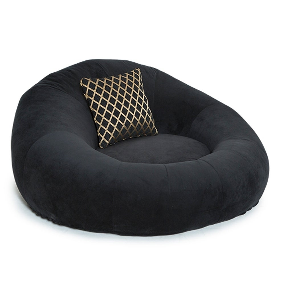 seatcraft1971 bella fabric home theater seat foam round lounge cuddle chair sofa ebay. Black Bedroom Furniture Sets. Home Design Ideas