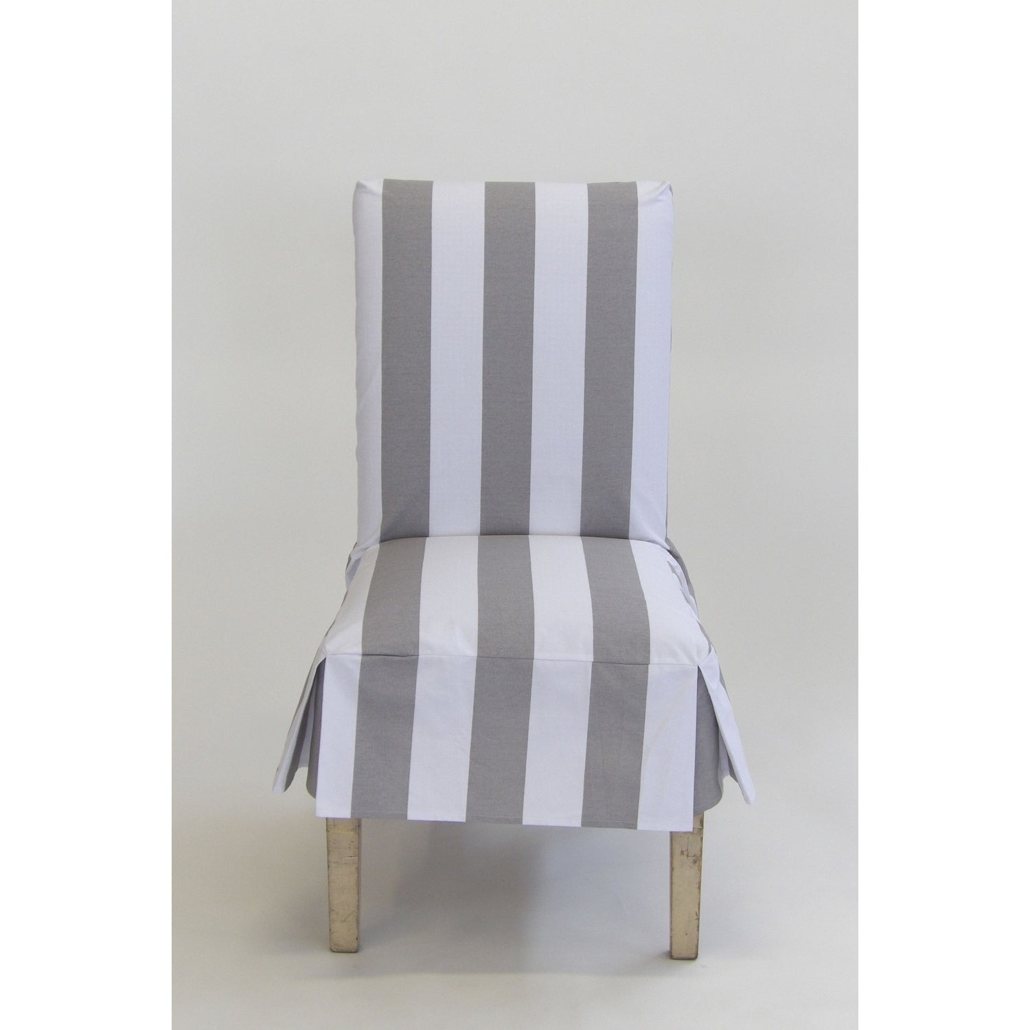 Classic Slipcovers Cabana Stripe Short Dining Chair Covers