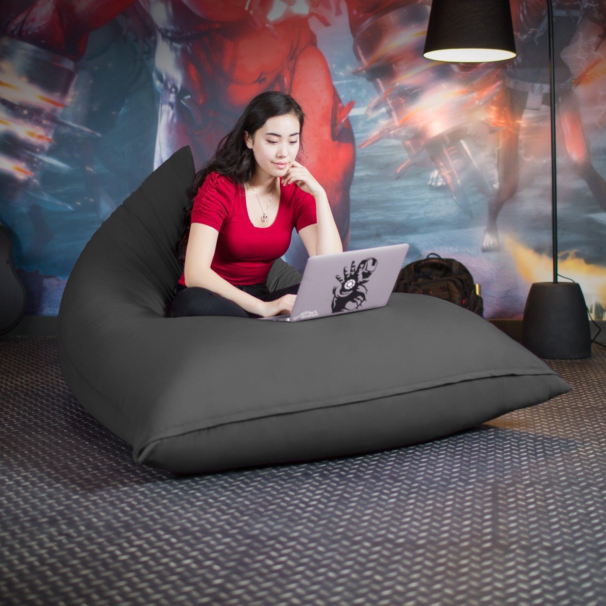 Etonnant Jaxx Pivot Bean Bag Chair With Cotton Cover