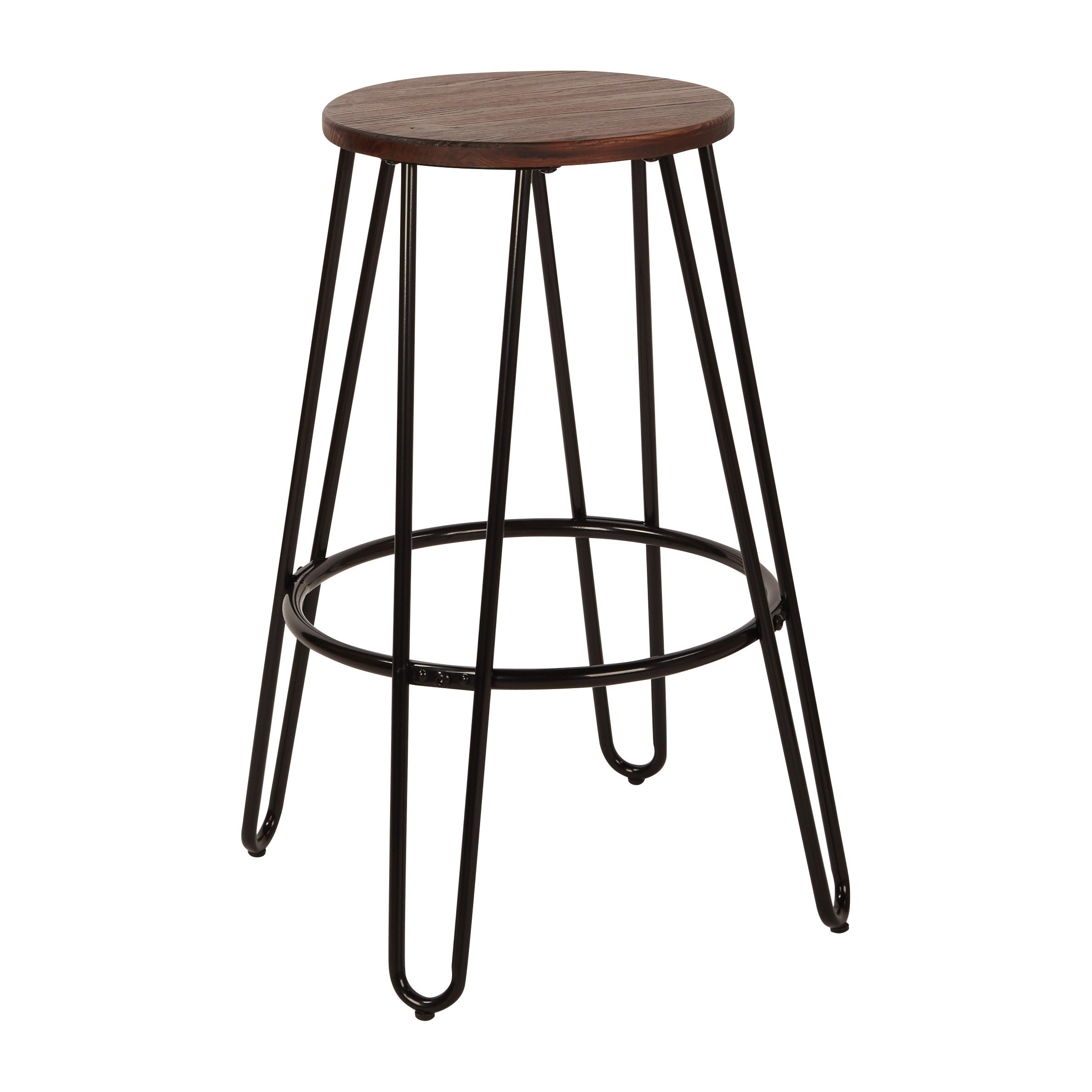 Osp Designs Ashville 26 Inch Counter Stools With Wood Seat 2 Pack