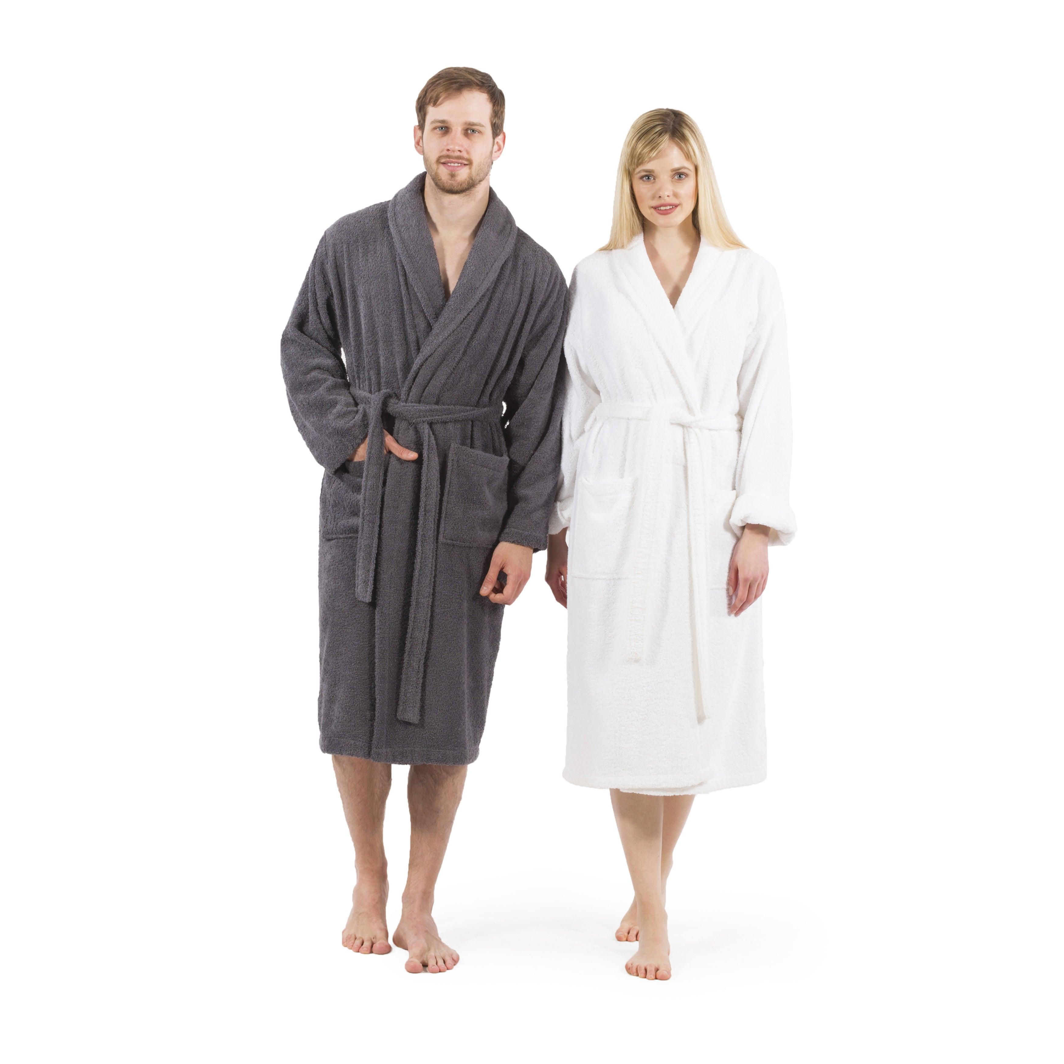 Authentic Hotel Spa Unisex Turkish Cotton Terry Cloth Bath