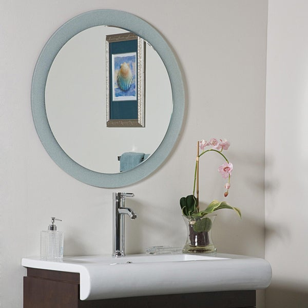 bathroom mirrors overstock zoe bathroom mirror overstock shopping big discounts 11157