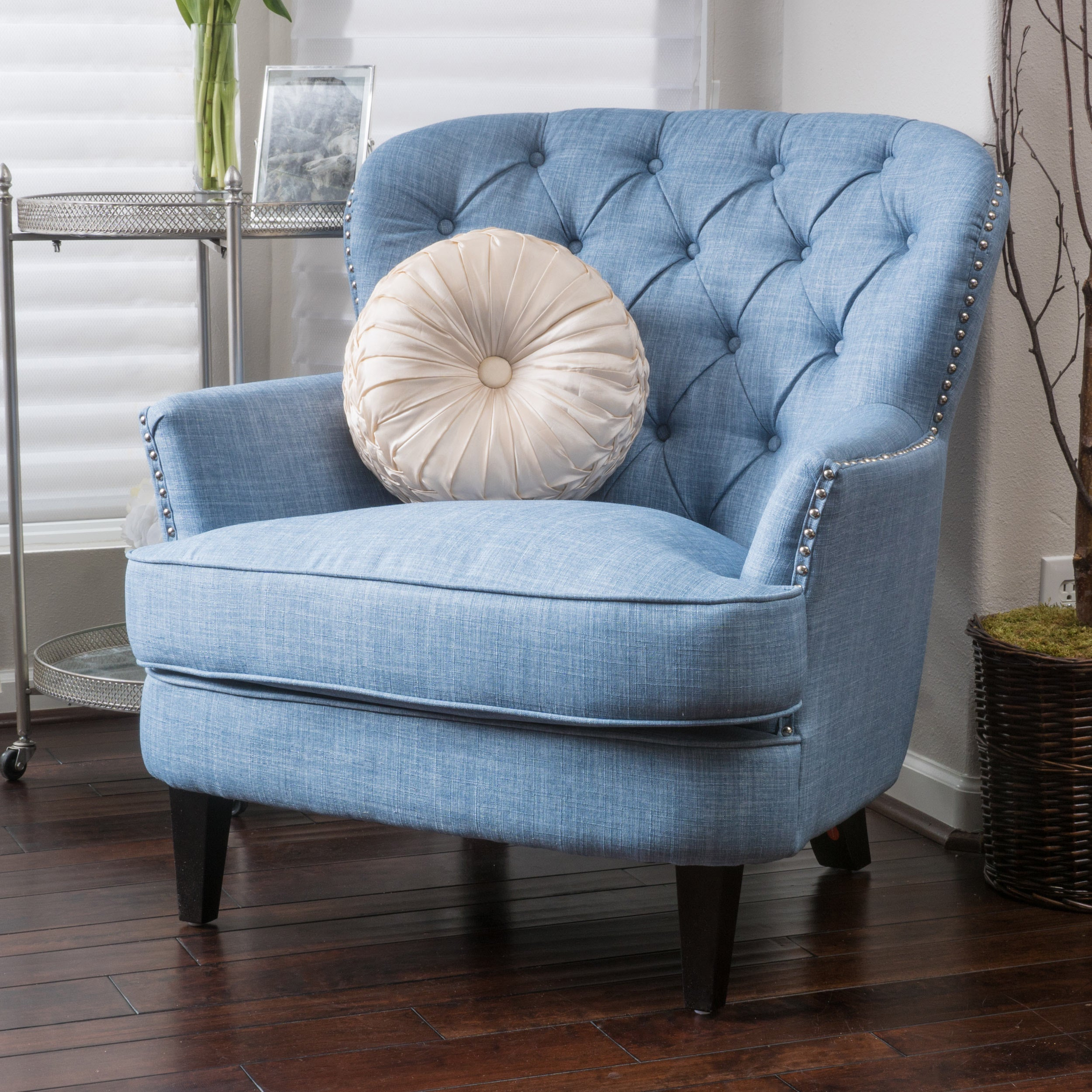 Exceptionnel Tafton Tufted Oversized Fabric Club Chair By Christopher