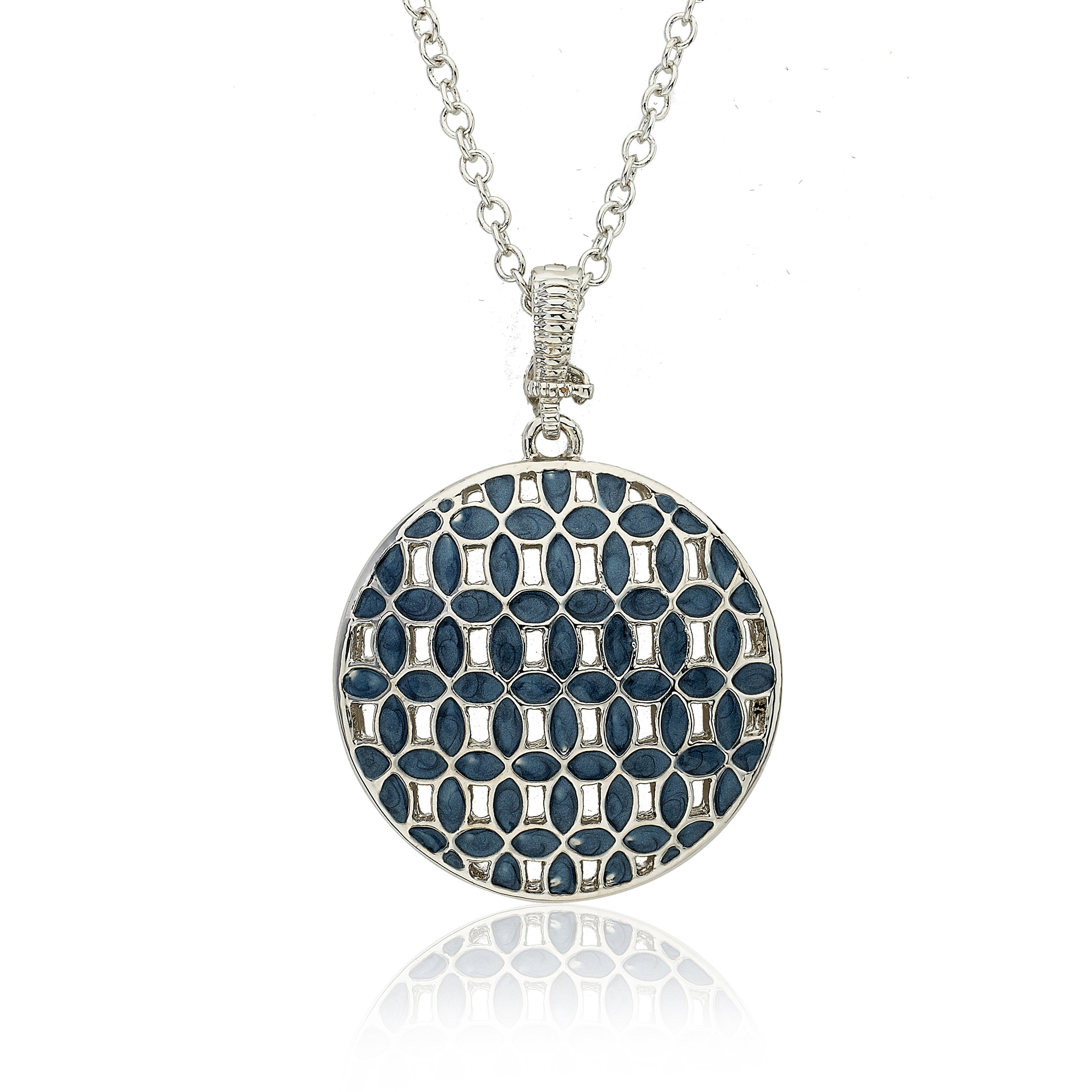 Riccova-Color-plated-Enamel-Circle-Necklace-30-034