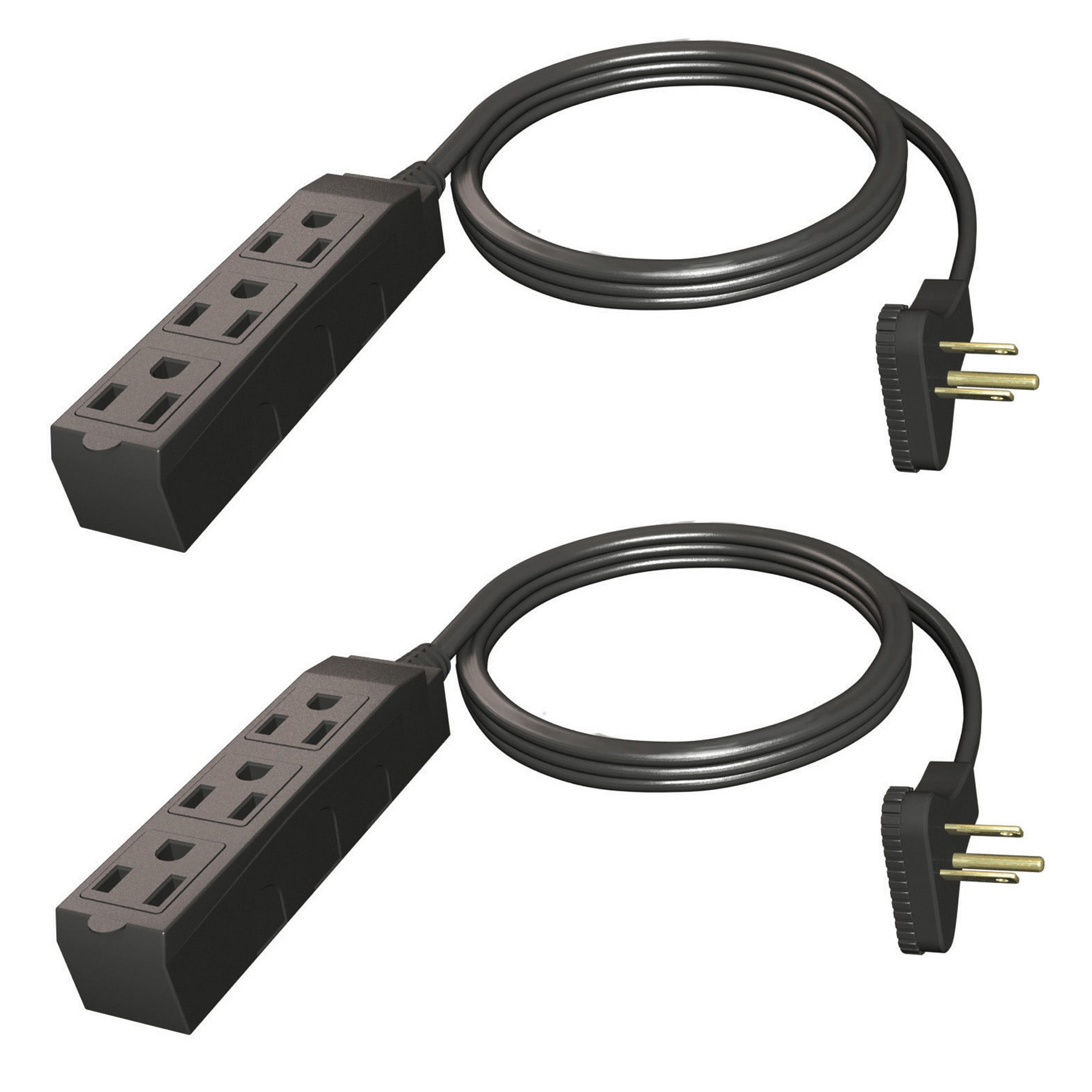 Stanley Electrical Heavy Duty Indoor Extension Cords (Set of 2