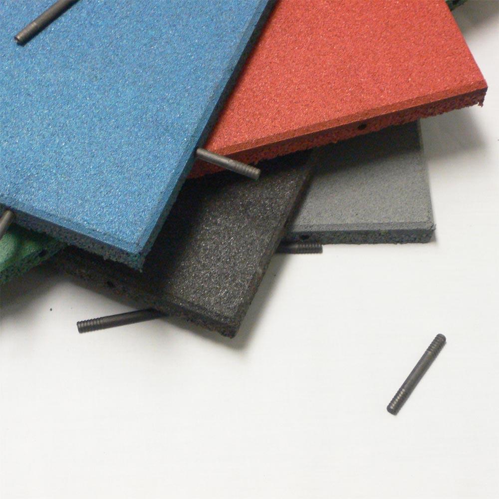 Rubber Cal Eco Sport 1 Inch Interlocking Flooring Tiles 1 X 20 X