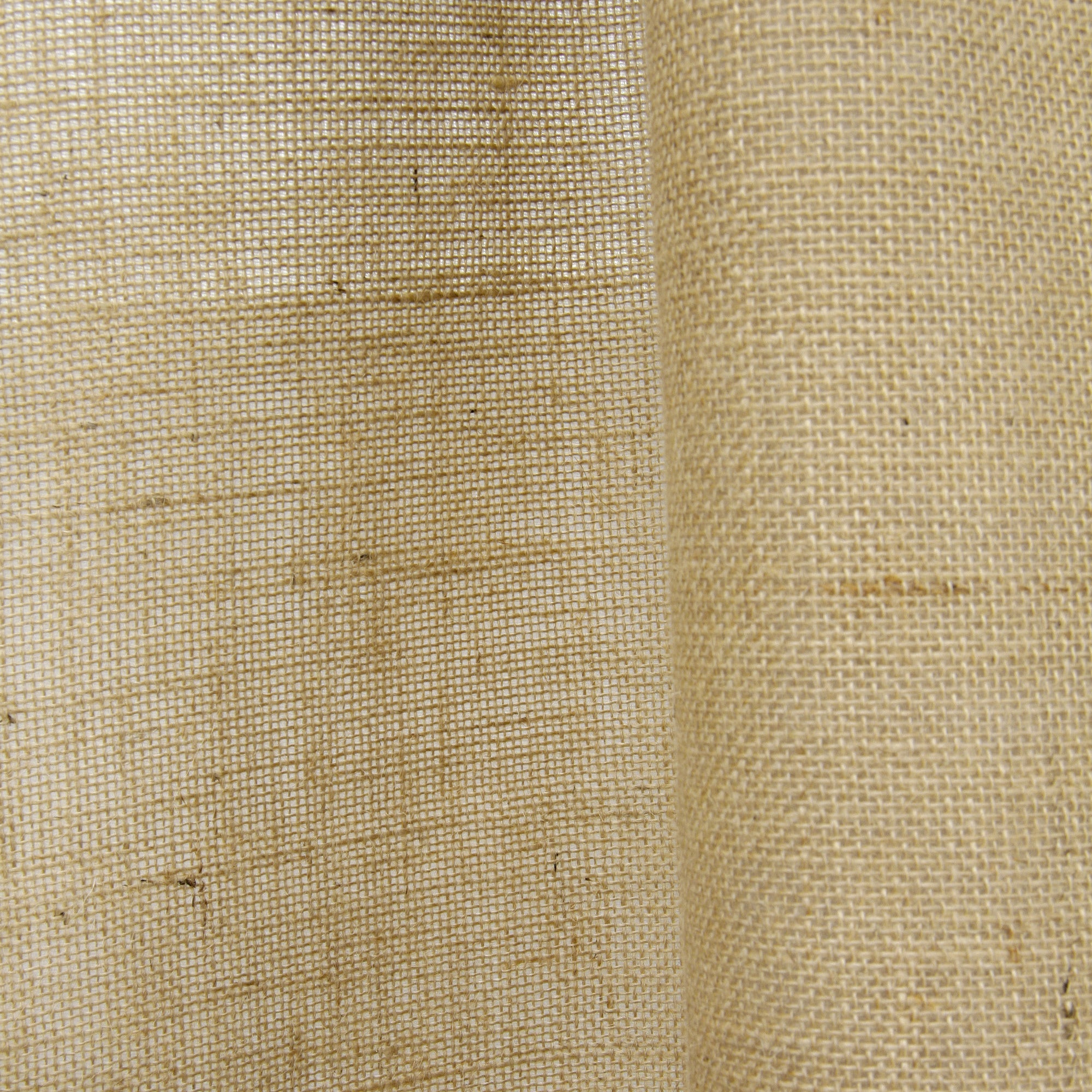 Open Weave Lined Burlap Curtain Panel Ebay