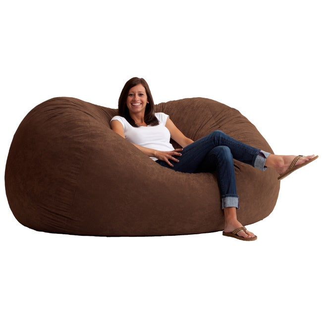 Stock photo  sc 1 st  eBay : micro suede giant bean bag chair - Cheerinfomania.Com