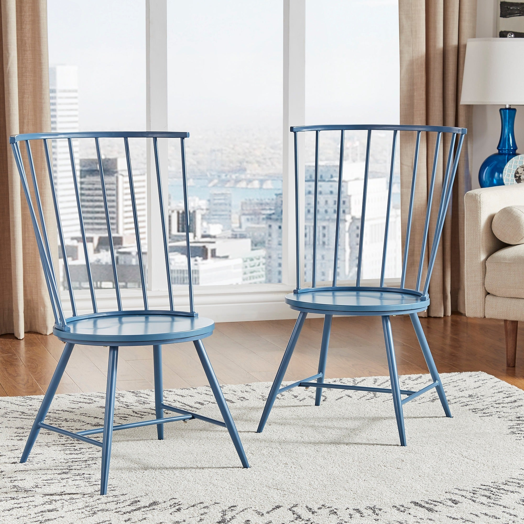 Truman high back windsor classic dining chair set