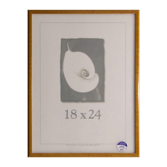 Economy 18-inch X 24-inch Picture Frame Honey 18x24 | eBay