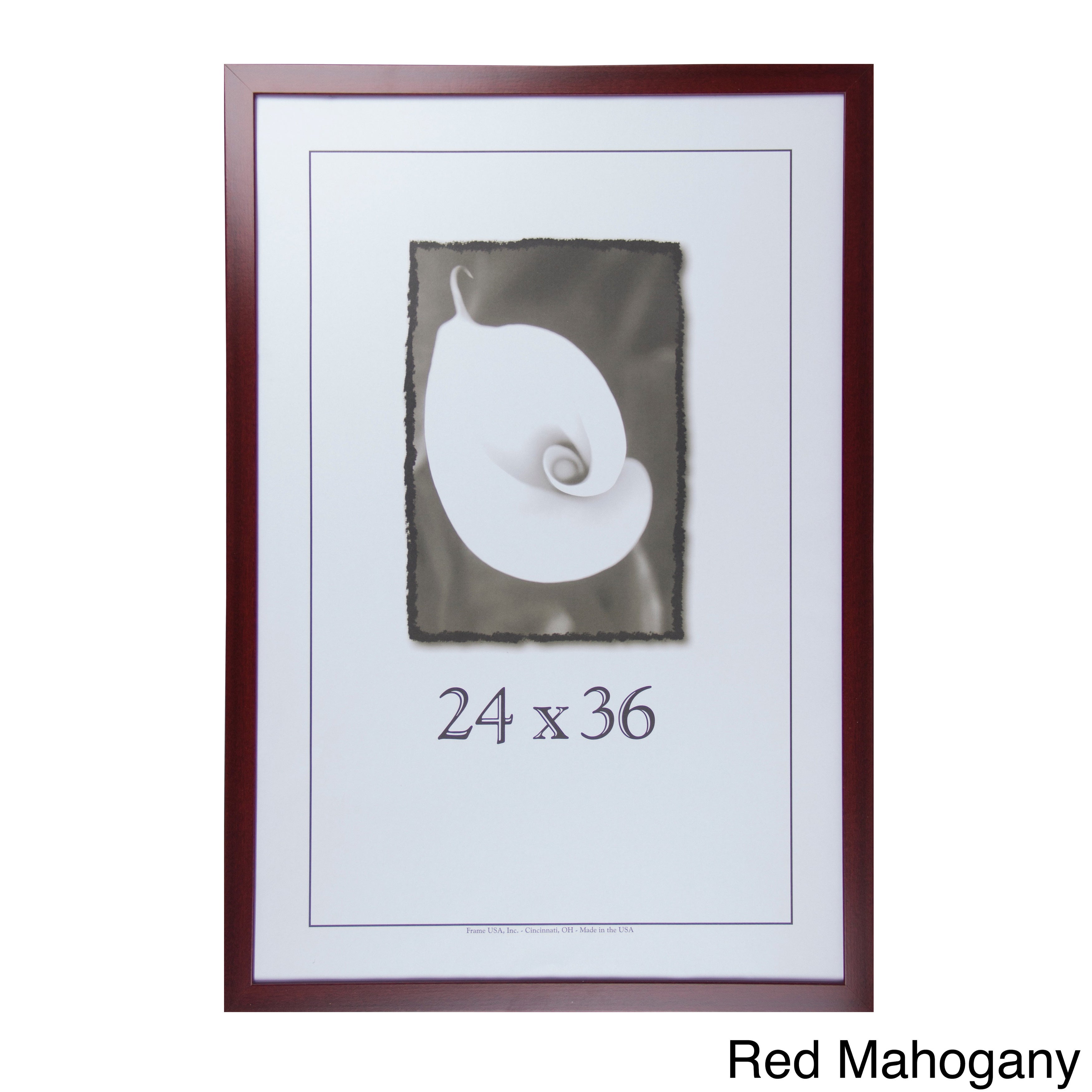 Orate Frames 24 X 36in Red Mahogany Poster Frame | eBay