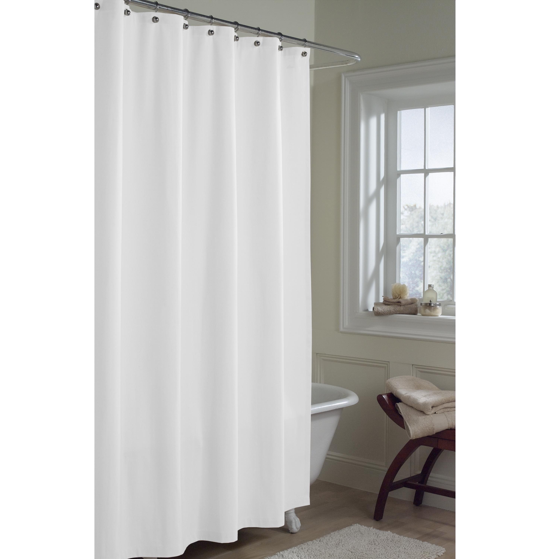 Maytex Fabric Shower Curtain Liner | eBay